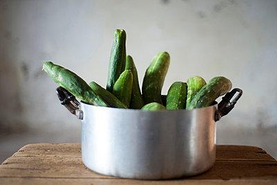 Cucumbers - p161m891752 by Kerstin Schomburg