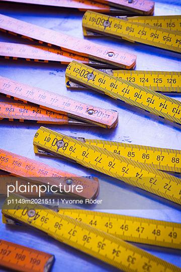 Meterstäbe - p1149m2021511 von Yvonne Röder