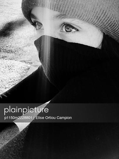 Augen eines Teenagers - p1150m2228801 von Elise Ortiou Campion