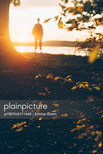 Alone by the water - p1507m2111445 by Emma Grann