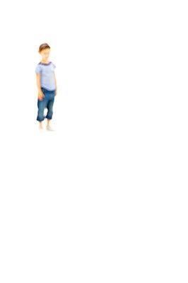 Einsamer Junge - p6010469 von Alain Caste