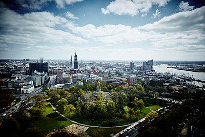 View of Hamburg - p851m1148611 by Lohfink