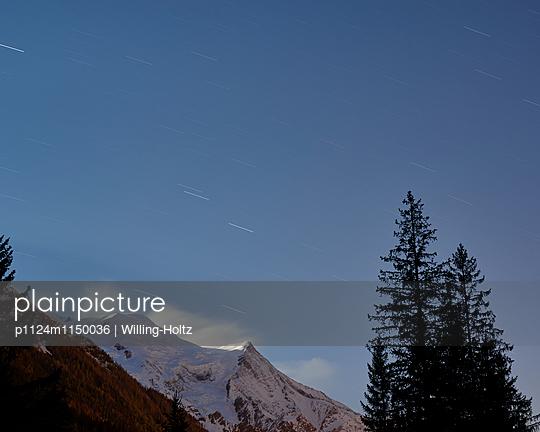 Sternenhimmel am Mont Blanc - p1124m1150036 von Willing-Holtz