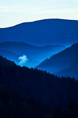 Blue hour - p1312m1502243 by Axel Killian