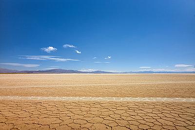 Salt flat, Salinas Grandes, Argentina - p1686m2288548 by Marius Gebhardt