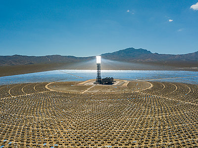 USA, Las Vegas, solar power field - p300m2059624 von Torsten Velden