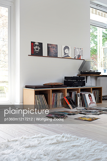 Plattensammlung - p1360m1217212 von Wolfgang Zlodej