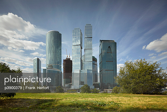 Moscow International Business Center - p3900379 von Frank Herfort