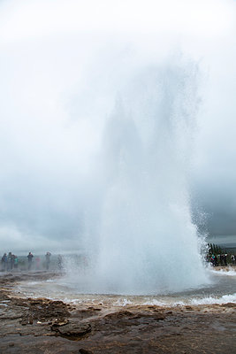 Geyser eruption - p1062m953983 by Viviana Falcomer