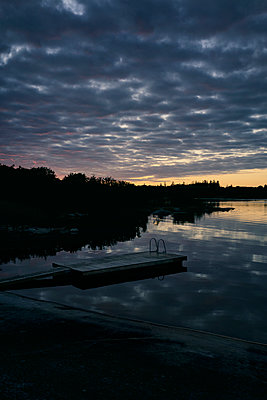 Sunset on Kökar - p470m2208739 by Ingrid Michel