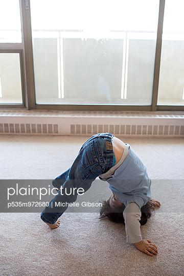 Yogapose - p535m972680 von Michelle Gibson