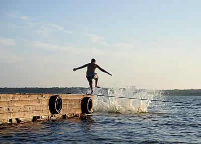 Spaß am Badesee - p1124m917962 von Willing-Holtz