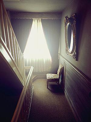 Sunny Hallway - p1072m993502 by Neville Mountford-Hoare