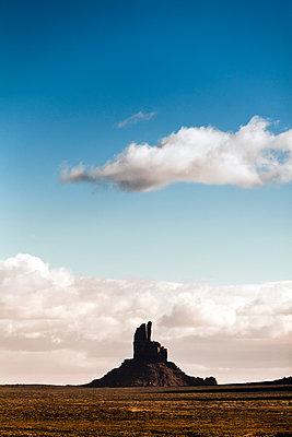 West and East Mitten Buttes - p1094m1209081 von Patrick Strattner