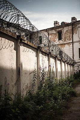 Prison wall - p971m918807 by Reilika Landen