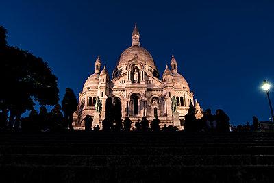 Montmartre und Sacré-Cœur - p1243m1515475 von Archer