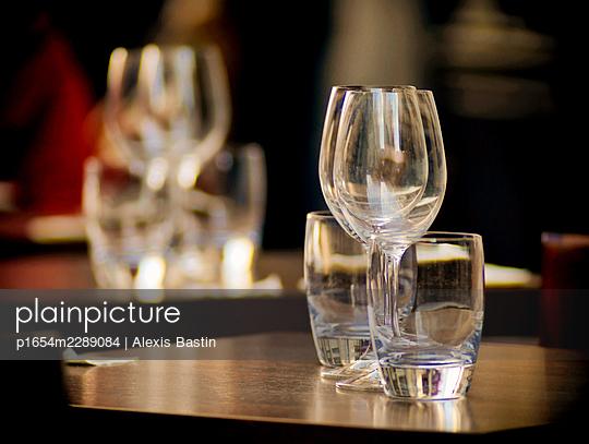 Bar in Paris - p1654m2289084 by Alexis Bastin