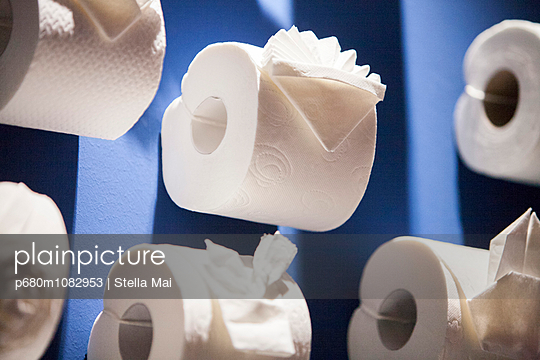 Roll of paper - p680m1082953 by Stella Mai