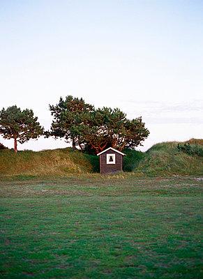 A bathing hut Sweden. - p31217826f by Elliot Elliot