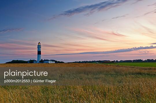 Germany, North Frisia, Sylt, Kampen lighthouse - p300m2012553 von Günter Flegar