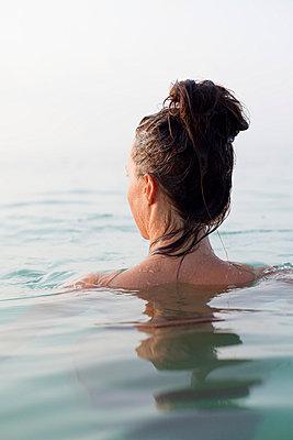 Swimming - p801m764302 by Robert Pola