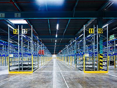Logistics centre warehouse - p280m1137379 by victor s. brigola