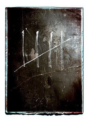 Kreidestriche - p4510968 von Anja Weber-Decker