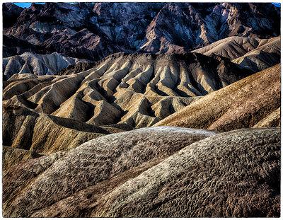 Felslandschaft Zabriskie Point - p1154m1110242 von Tom Hogan