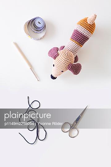 Crochet Dachshund - p1149m2298084 by Yvonne Röder