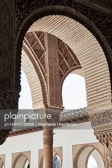 Granada, Round arch - p1146m2150555 by Stephanie Uhlenbrock