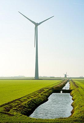 Wind energy Eemshaven - p1132m949268 by Mischa Keijser