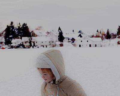 Winter auf dem Land - p1279m1487962 von Ulrike Piringer