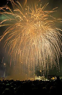 Fireworks - p1790021 by Roland Schneider