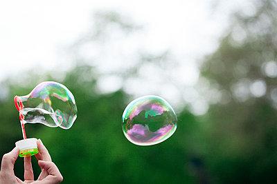Soap bubbles - p795m2227445 by JanJasperKlein