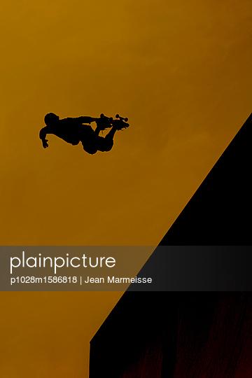 Skateboarder - p1028m1586818 von Jean Marmeisse