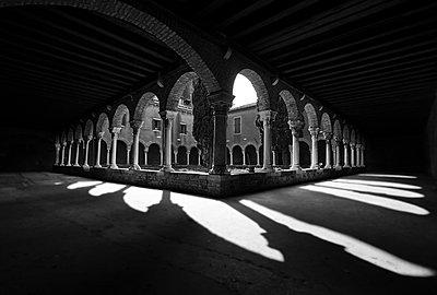 Convent arcades, Venice - p1256m2177855 by Sandra Jordan