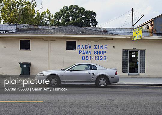 Magazine pawn shop - p378m795800 by Sarah Amy Fishlock