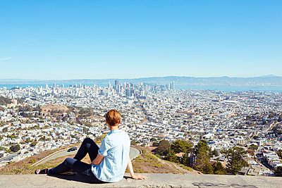Blick auf San Francisco - p432m1082622 von mia takahara