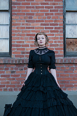 Victorian attire - p920m917734 by Jude Mooney