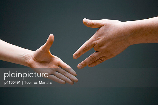 Hand with four fingers - p4130491 by Tuomas Marttila