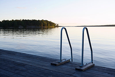 A jetty in the archipelago of Stockholm Sweden. - p31218173f by Plattform