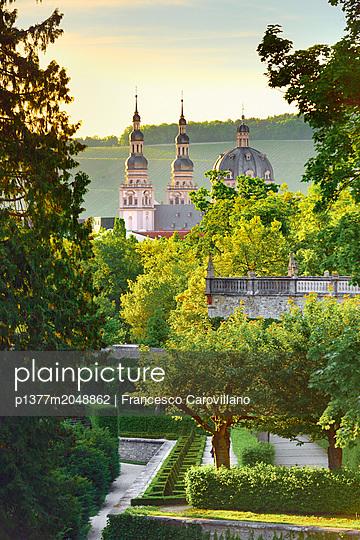 Germany, Bavaria, Bayern, Lower Franconia, Unterfranken, Würzburg, Würzburg Residence, Würzburg Residence and its gardens - p1377m2048862 by Francesco Carovillano