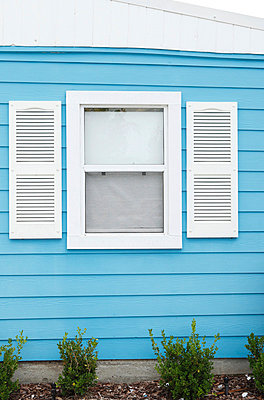 Window of a wooden house - p045m816868 by Jasmin Sander