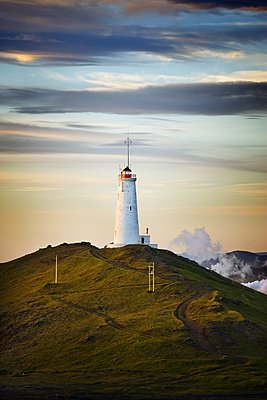 Lighthouse in Iceland - p1084m1036862 by GUSK
