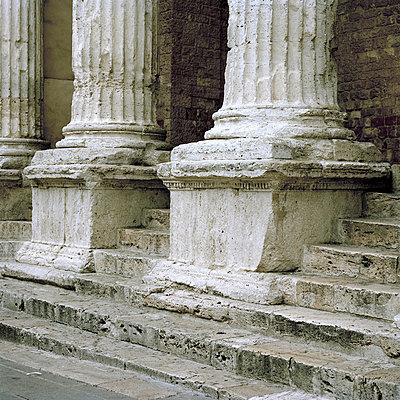 Weathered columns - p949m658316 by Frauke Schumann