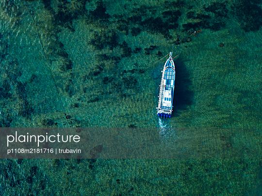 Indonesia, Bali, Motorboat - p1108m2181716 by trubavin