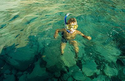 Im Meer schnorcheln - p0030456 von Carolin