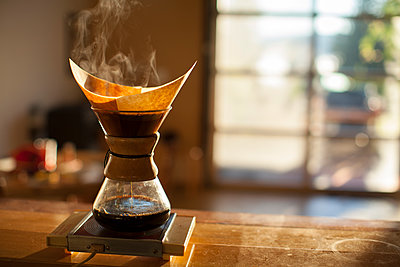 Pourover coffee. - p343m1168495 by Woods Wheatcroft