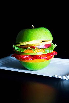 Veggie Burger - p1149m2089358 by Yvonne Röder