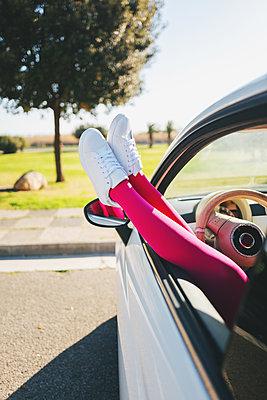 Relaxing in car - p1165m1222159 by Pierro Luca